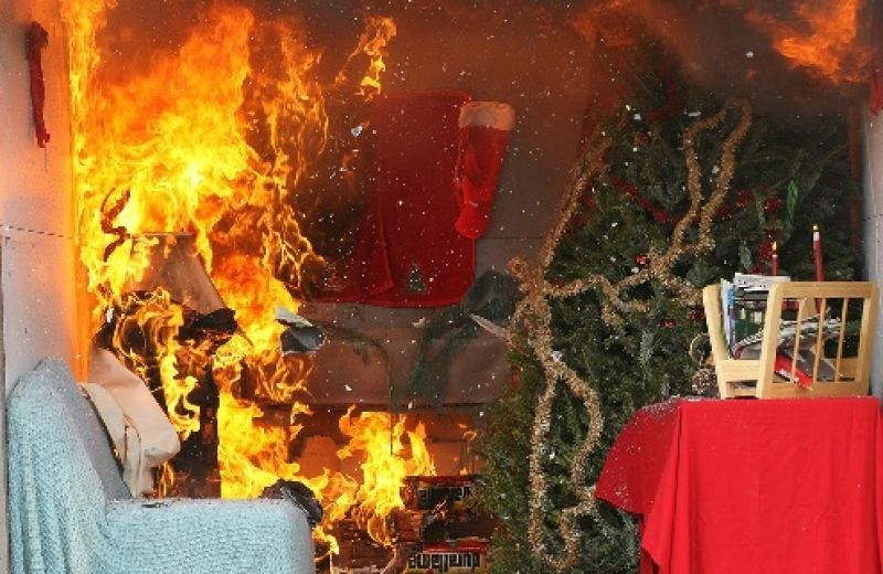 CHRISTMAS AND WINTER FIRE SAFETY TIPS