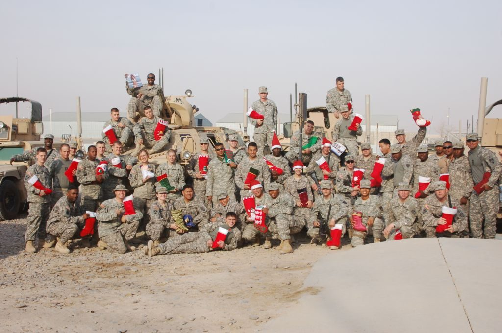 Merry Christmas to Our Soldiers